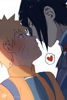 kiss already!!!! SasuNaru
