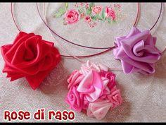 TUTORIAL ROSE DI RASO - YouTube