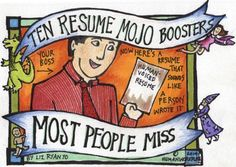 10 Resume Mojo Boosters Most People Miss | Liz Ryan | LinkedIn