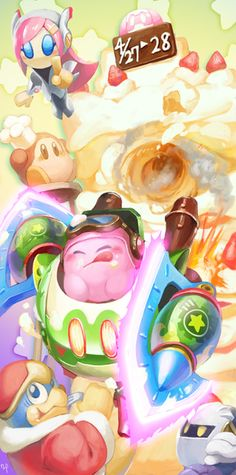 Yay! More Kirby: Planet Robobot!!!!