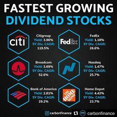 Stock Market Investing, Investing In Stocks, Investing Money, Stock Trading Strategies, Dividend Investing, Dividend Stocks, Investment Tips, Business Money, Budgeting Finances
