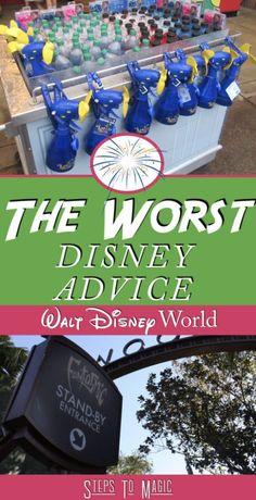 Worst Disney World Advice - Steps To Magic | Orlando Trip Planning