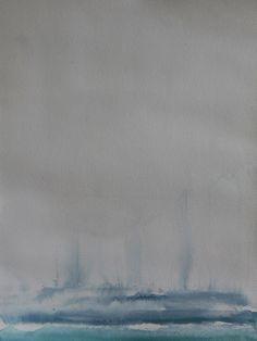 Koen Lybaert - Bridgeman Islands - watercolor/gouache on paper [40 x 30] / 2013