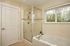 Ensuite bathroom has a separate shower as well