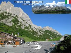 Passo Fedaia (2057 m) - Alpi Occidentali Mountain Pass, Mount Everest, Mountains, Nature, Travel, Step By Step, Italy, Climbing, Viajes