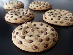 cool looking Chocolate Chip cookie