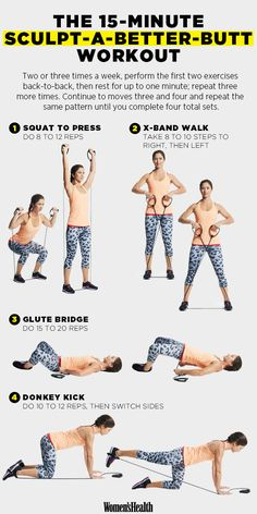 Sculpt a Head-Turning Butt with This 15-Minute Workout | Women's Health Magazine