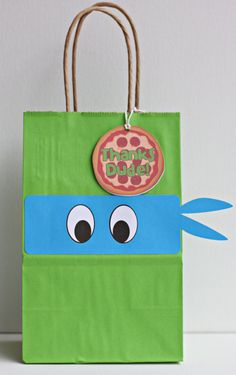 Ninja Turtle party TMNT party bags set of 12 by ILoveYouBunches