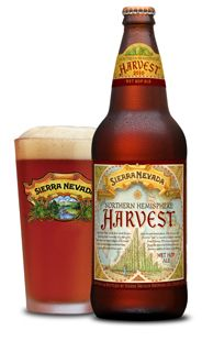 Sierra Nevada Harvest: Hoppy and you can sometimes get it at Safeway