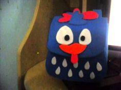 Mochila da galinha pintadinha em E.V.A - YouTube