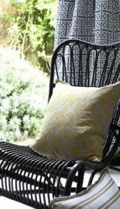 'Hit the Deck' - the outdoor-friendly range from Hertex Fabrics Hertex Fabrics, Fabric Design, Upholstery, Deck, Range, Throw Pillows, Twitter, Summer, Outdoor