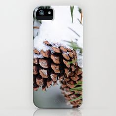 After the Snow iPhone & iPod Case by Captive Images Photography - $35.00  #snow #cone #pine #winter #iPhone