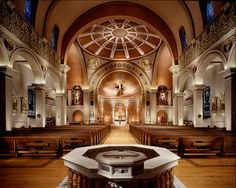 Tennessee | Immaculate Conception Catholic Cathedral in Memphis, TN - Inside view from your Trinity Stores crew.