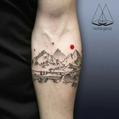 Various cool tattoo designs that are you probably never though of before. We will be sharing you a rich and vibrant gallery of cool tattoo designs that will surely inspire you to have one inked on your skin! Dot Tattoos, Black Ink Tattoos, Trendy Tattoos, Body Art Tattoos, Small Tattoos, Tattoos For Guys, Tatoos, Bright Tattoos, Henna Tattoo Muster