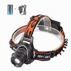 New Direction Tackle USB Rechargeable Rotating Zoomable Head touch//head lamp//Hea