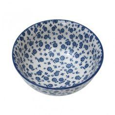 Japanese Bowl - Blue Daisy