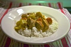 Crockpot Curry Pork: Simple Living and Eating
