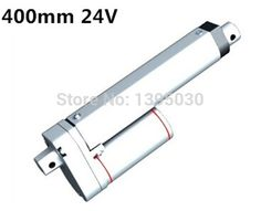 249.22$  Watch now - http://ali6yq.worldwells.pw/go.php?t=32735077183 - 6pc Stroke 400mm=16 inches/ 12V/ 1000N=100KG  mini electric linear actuators linear tubular motor   249.22$