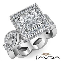 princess cut rings | Gallery of The Unique Princess Cut Engagement Rings