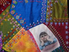 Crazy Stitcher: Sarsaparilla Crazy Quilt - A Learning Experience Crazy Quilting, My Past, Quilts, Embroidery, Thoughts, Blanket, Learning, Embellishments, Projects