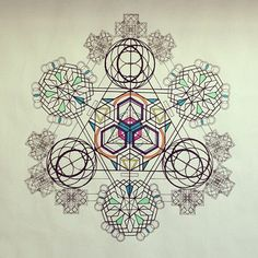 Some spiritual math never hurt anyone. Sacred Geometry is the bomb.