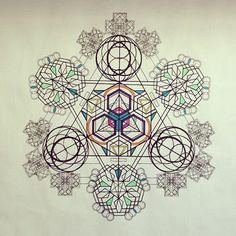 Some spiritual math never hurt anyone. Sacred Geometry is the bomb.