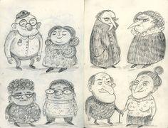 Happy old people - Freya Hartas