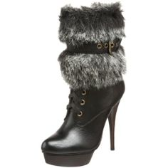 Nice Steve Madden Women's Claus Faux Fur Lined Boot