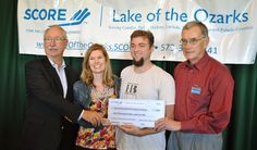 SCORE awards two local entrepreneurs with business plan award