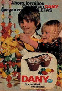 Old Danone advertising, 1975