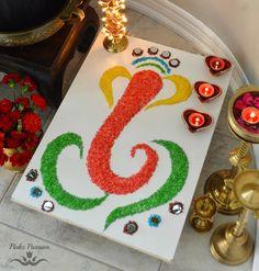 Festive ready home (Diwali - Part Rangoli Designs Flower, Small Rangoli Design, Colorful Rangoli Designs, Rangoli Ideas, Rangoli Designs Diwali, Flower Rangoli, Beautiful Rangoli Designs, Easy Rangoli, Diya Decoration Ideas