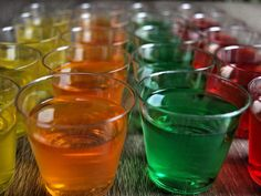 Allow Jell-O shots to set for at least two hours.