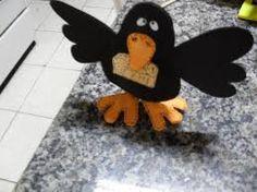 Resultado de imagem para molde corvo