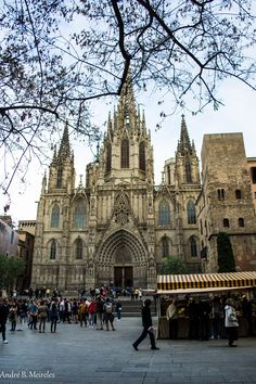 Catedral de Barcelona (by Andre B. Meireles on 500px)
