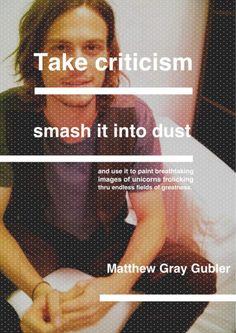 Matthew Grey Gubler  @Megan Hernandez