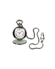 Great Group Halloween Costumes: The Addams Family - Pocket Watch with Silver Color Chain Costume Jewelry
