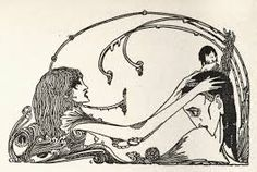 Image result for harry clarke illustrations faust