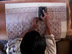 Ajrak Making #pakistan