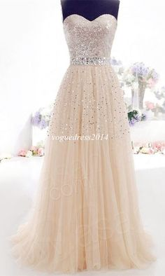 Cheap Champagne Prom Dresses Long Evening Dress Party Dress Stock Ready to Order in Clothing, Shoes & Accessories