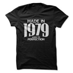 View images & photos of Made in 1979 - Aged to Perfection t-shirts & hoodies