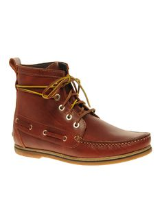 Leather Deck Boots
