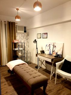 my home studio for microblading and lashes Brows, Lashes, Home Studio, Studio Ideas, Condo, Bed, Furniture, Home Decor, Microblading Eyebrows
