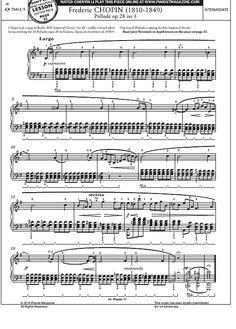Prélude Op.28 No.4 >>> KLICK auf die Noten um Reinzuhören <<<