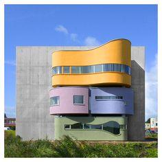 styletaboo:  John Hejduk - Wall House II [The Netherlands, 2001]