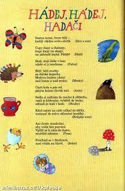 Výsledek obrázku pro básničky pro děti Projects For Kids, Diy For Kids, Crafts For Kids, Camping With Kids, Kids And Parenting, Activities For Kids, Diy And Crafts, Kindergarten, Preschool