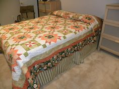 This is the king size quilt made for our son.