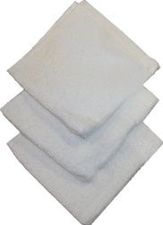 Budget Grade Washcloths budget grade washcloth is affordable and highly absorbent. The perfect solution for an inexpensive first quality washcloth.