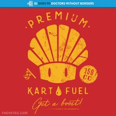 Shroom Kart Fuel By Marc Junker at The Yetee!