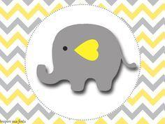 Elefantinho Chevron cinza e amarelo: Kit festa grátis para imprimir – Inspire sua Festa ® http://inspiresuafesta.com/elefantinho-chevron-cinza-e-amarelo-kit-festa-gratis-para-imprimir/