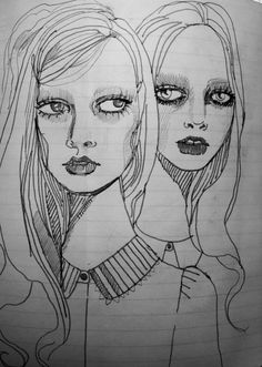 Note pad sketches